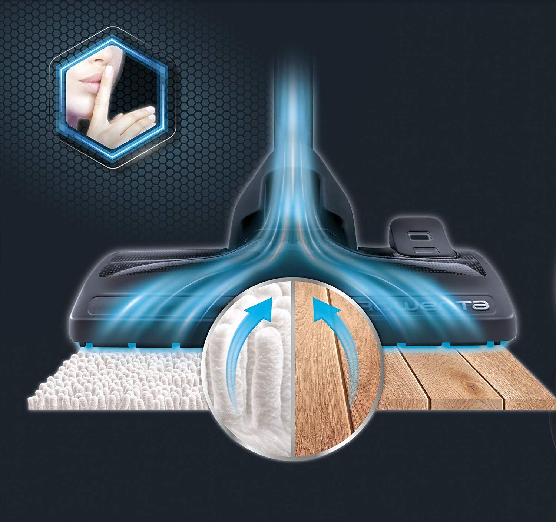 /énergie 3 X AAA Classification, 750 W = 2000 W, 3,0L, indicateur de Niveau de poussi/ère, Sol, Brosse de parquet Rowenta RO3950 Aspirateur avec Sac Compact Power 3 liters