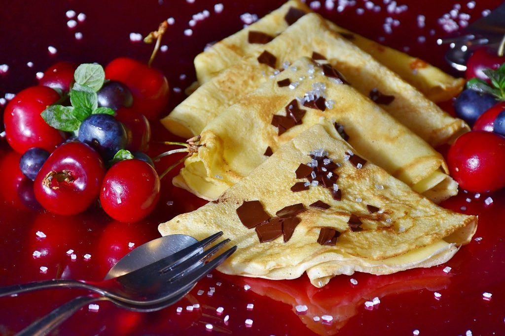 crêpes-fruits-rouges
