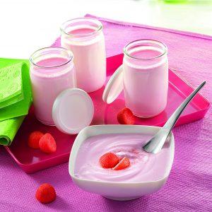 yaourt-fraise-maison