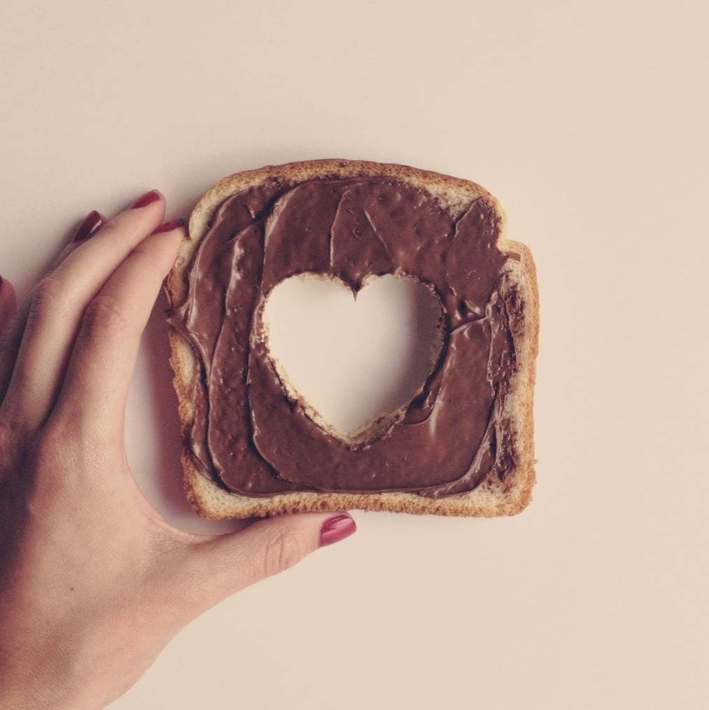 Toast-Nutella
