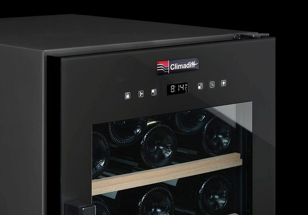 Cave à vin Climadiff 56 bouteilles