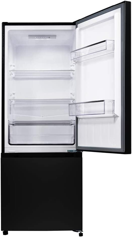 Vue intérieur du réfrigérateur congélateur CHiQ