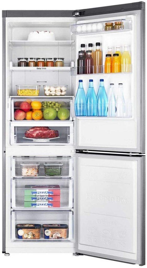 Réfrigérateur Samsung 325L Ouvert