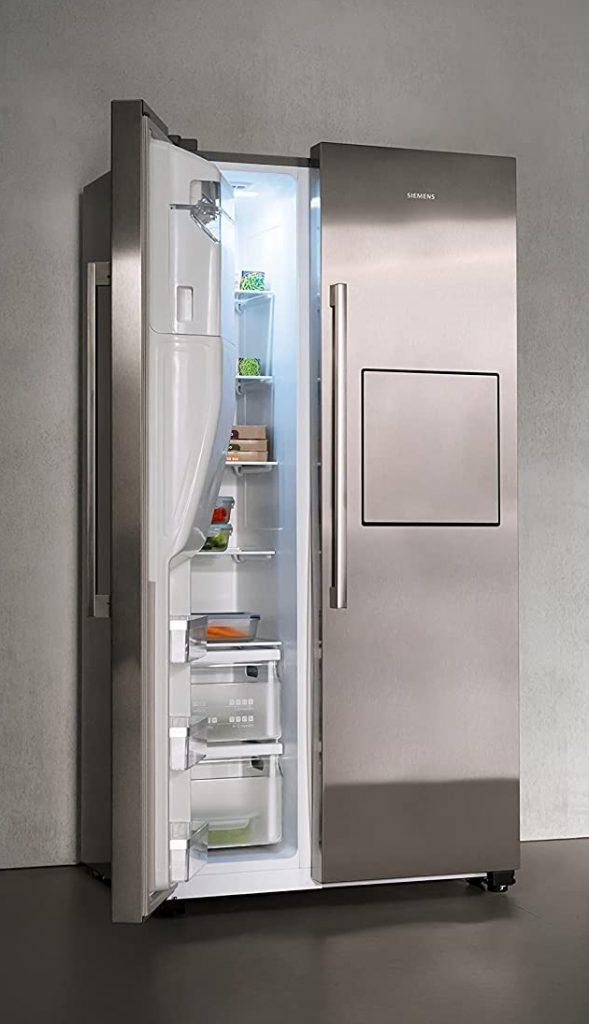 Réfrigérateur américain Siemens iQ500 ouvert