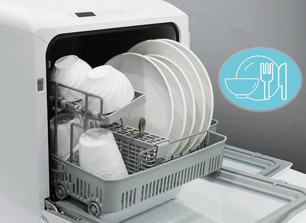 Rangement du lave-vaisselle de table Singlehomie