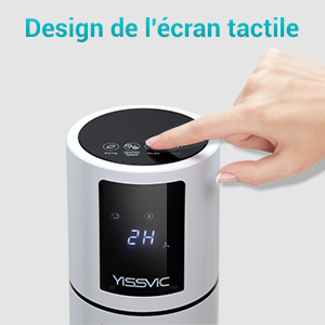 Commandes du ventilateur oscillant Yissvic